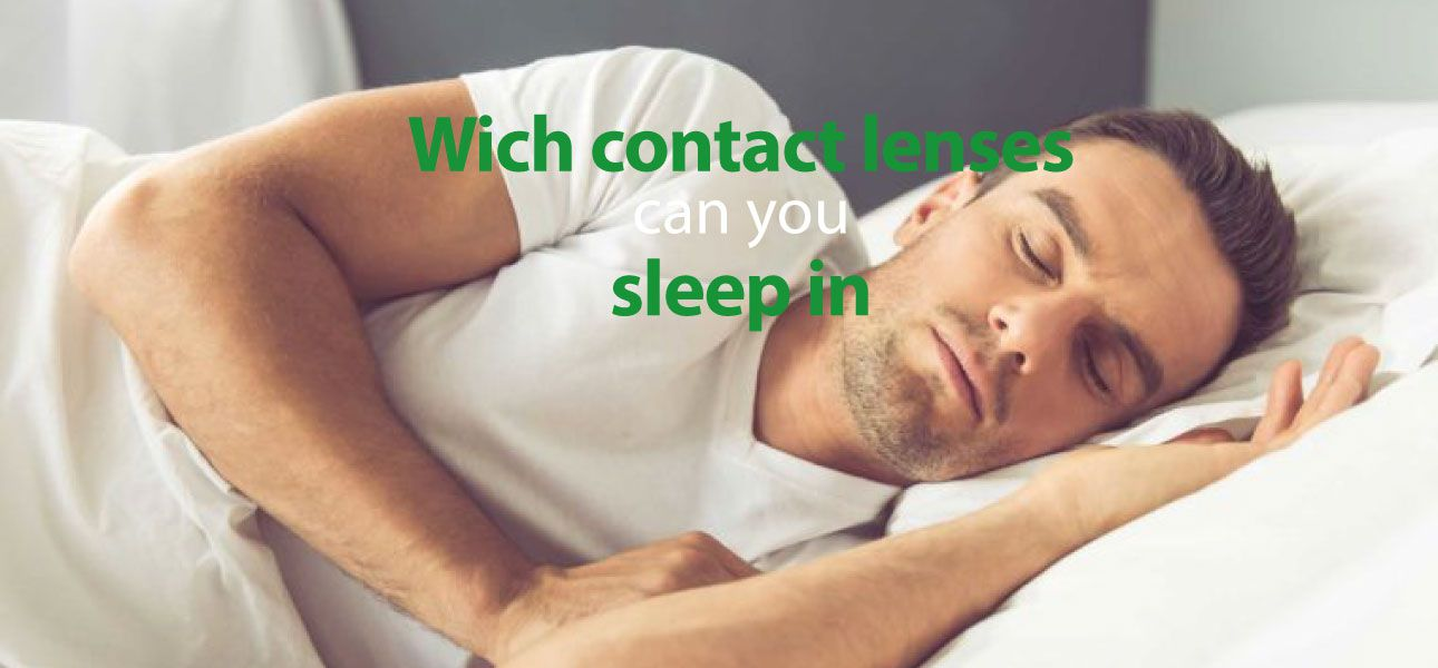 Contact Lenses you can sleep in