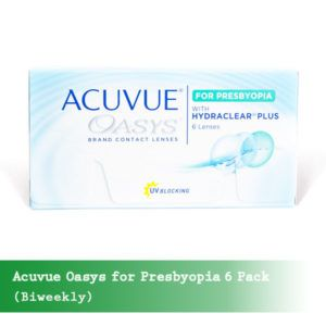 Acuvue-Oasys for Presbyopia 6 Pack